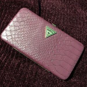 GUESS burgundy wallet
